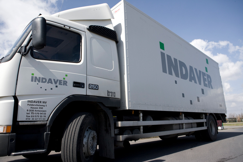 truck, waste management, indaver, move