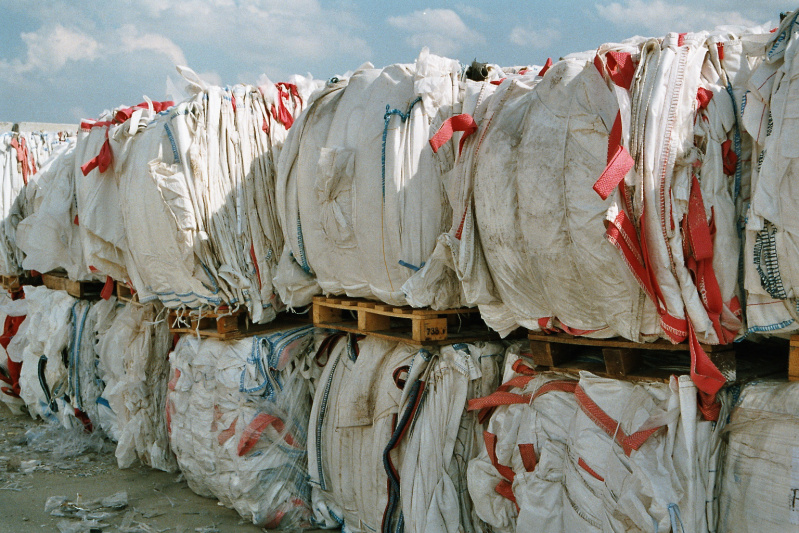 big bags, plastic, waste management